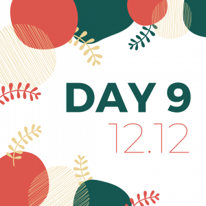 12 days of giveaways - day 9